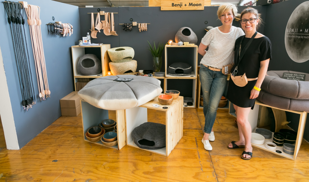 Hanneke Schutte & Karen Carr, co-founders of  Benji and Moon