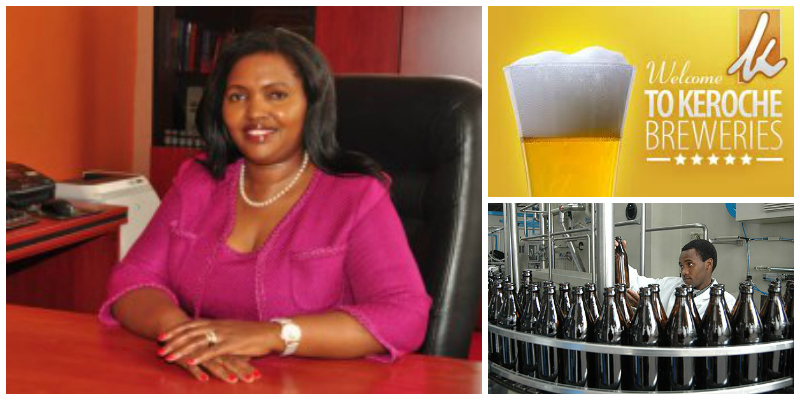 Tabitha Karanja, founder of Keroche Breweries (Kenya)