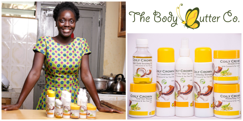 Korkor Kugblenu , founder of  The Body Butter Company  (Ghana)