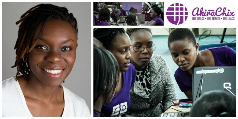 Judith Owigar, co-founder of Akirachix (Kenya)