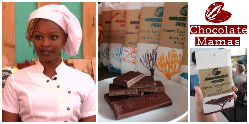 Jaki Kweka, co-founder of Chocolate Mamas (Tanzania)