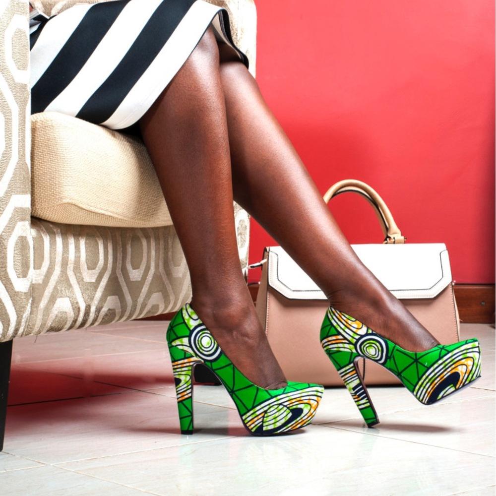 JBK 5 Inch Heel | by Buqisi-Ruux | Tetsi & Lynn Bugaari and Nuba Elamin (Kenya)