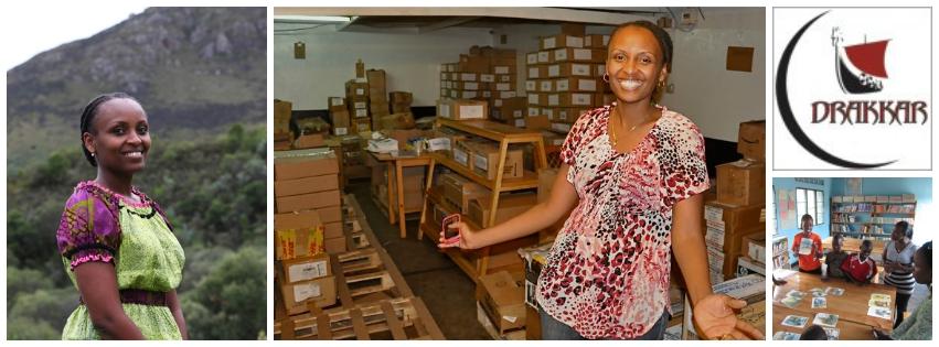 Lydie Hakizimana,co-founder of Drakkar Limited(Rwanda)