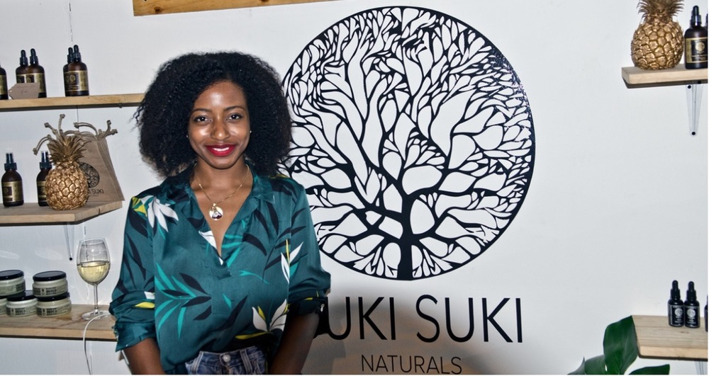 Linda Gieskes Mwamba, founder of Suki Suki Naturals. Image by Michael Griffin