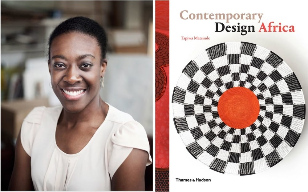 Tapiwa Matsinde, author of 'Contemporary Design Africa'