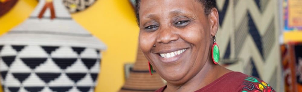 Janet Nkubana, co-founder of  Gahaya Links Cooperatives (Rwanda)