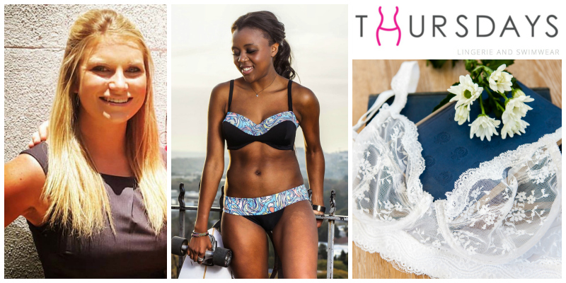 Shona Macdonald, founder of Thursdays Lingerie and Swimwear (South Africa)