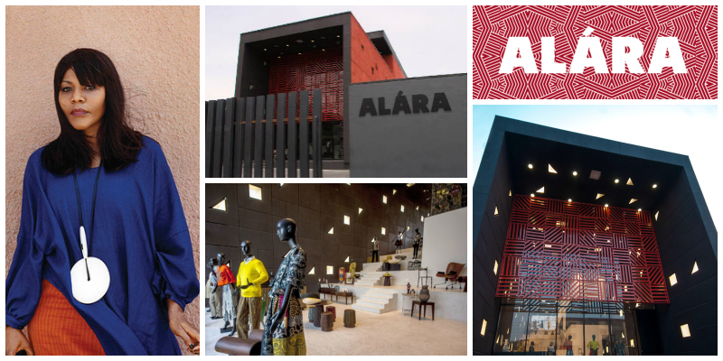 Reni Folawiyo , founder and CEO of the luxury concept retail store  Alara  (Nigeria)