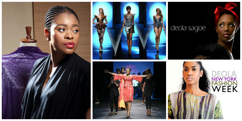 Deola Sagoe, leading lady of African haute couture (Nigeria)