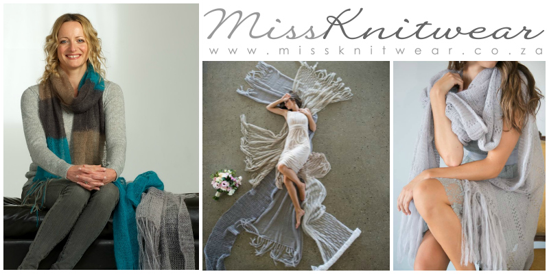 Candice Johnson,  founder of  Miss Knitwear  (South Africa)