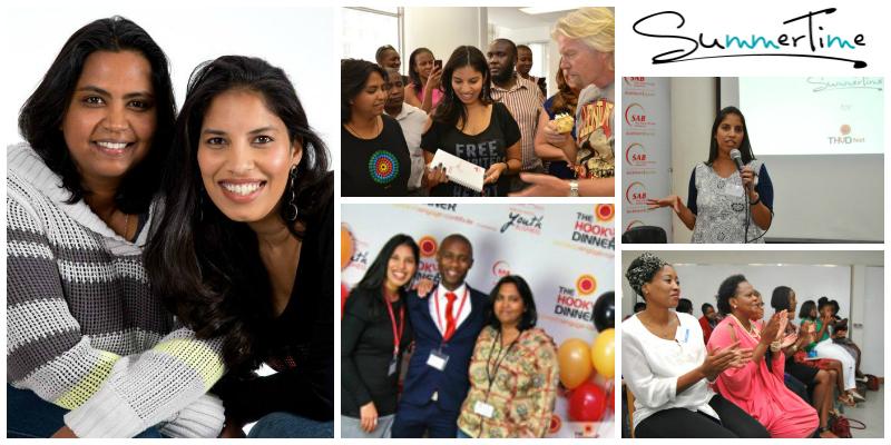 Sandhya Singh and Raksha Mahabeer, founders of SummerTime (South Africa)