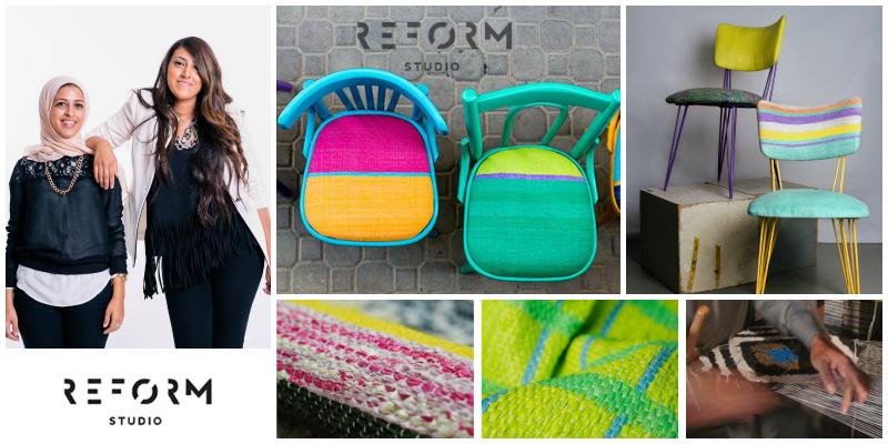 Mariam Hazem and Hend Riad, founders of www.reformstudio.net