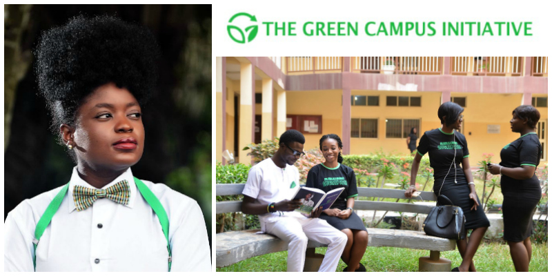 Adenike Akinsemolu, founder of The Green Campus Initiative (Nigeria)