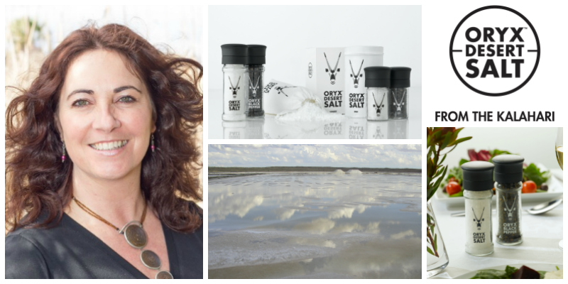 Samantha Skyring, founder of Oryx Desert Salt (South Africa)