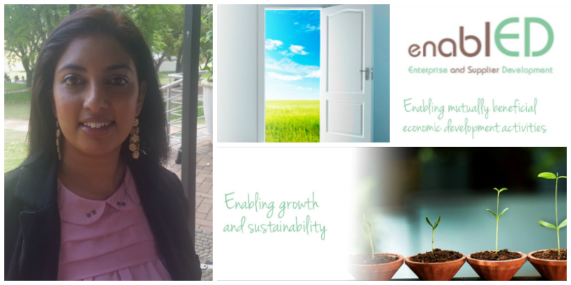 Evashnee Naidu, founder of EnablED (South Africa)