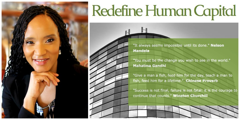 Irisha Luhanga, founder  Redefine Human Capital  (South Africa)