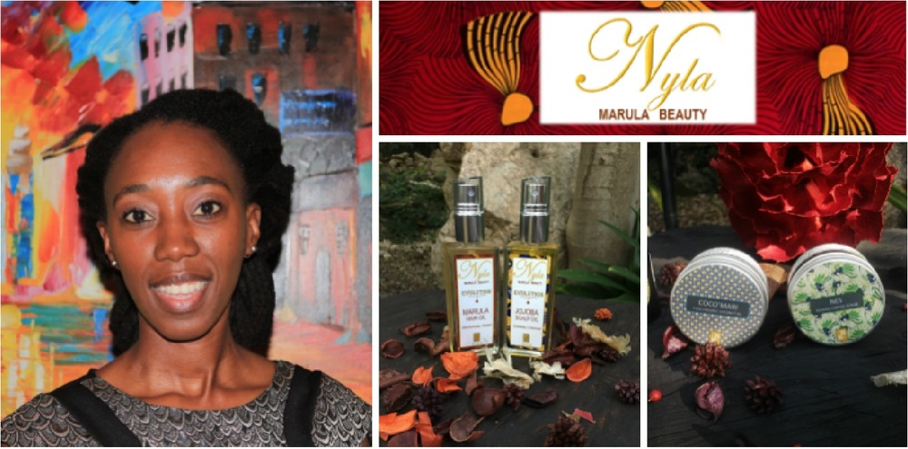 Thokozile Mangwiro, founder of Nyla Naturals (South Africa)