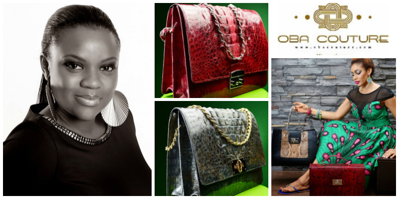 Olubukola Asafa , founder of  Oba Couture  (Nigeria)
