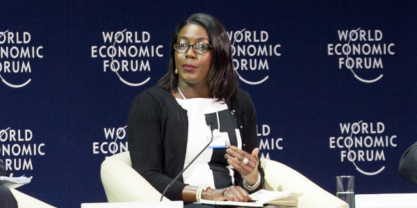 Monica Musonda, founder and Chief Executive Officer of Java Foods (Zambia)