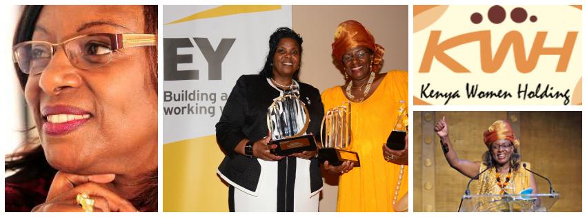 Jennifer Riria, Group Chief Executive of Kenya Women Holding