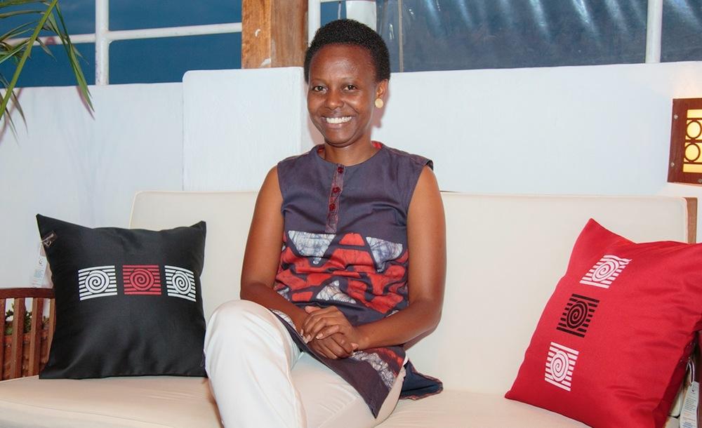 Gloria Kamanzi Uwizera, founder of Glo Creations (Rwanda)