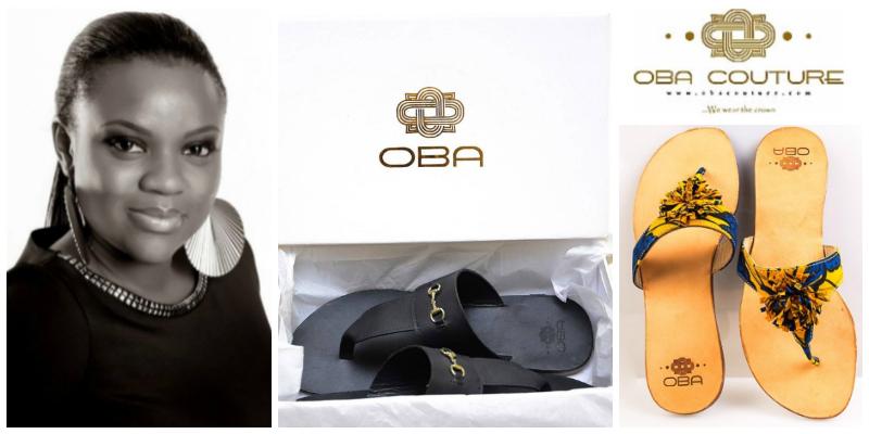 Olubukola Asafa, founder of Oba Couture (Nigeria)