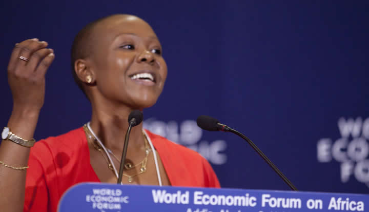 Elsie Kanza, Head of Africa, World Economic Forum