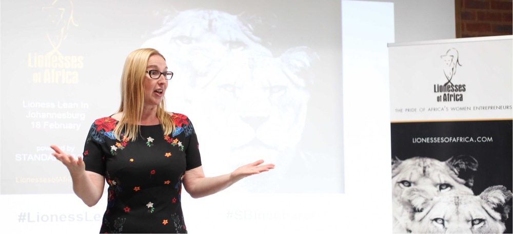 Melanie Hawken, founder and ceo of Lionesses of Africa