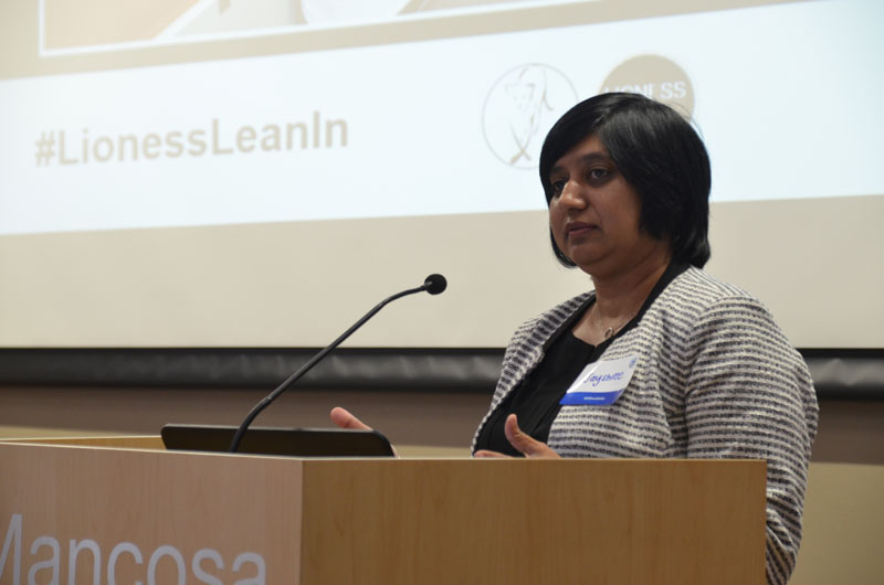 Jayshree Naidoo, Head of the Standard Bank Business Incubator