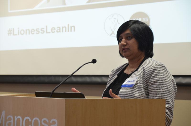Jayshree Naidoo, Head of the Standard Bank Business Incubator