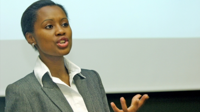 Khanyi Dhlomo, founder and Managing Director of Ndalo Media (South Africa)