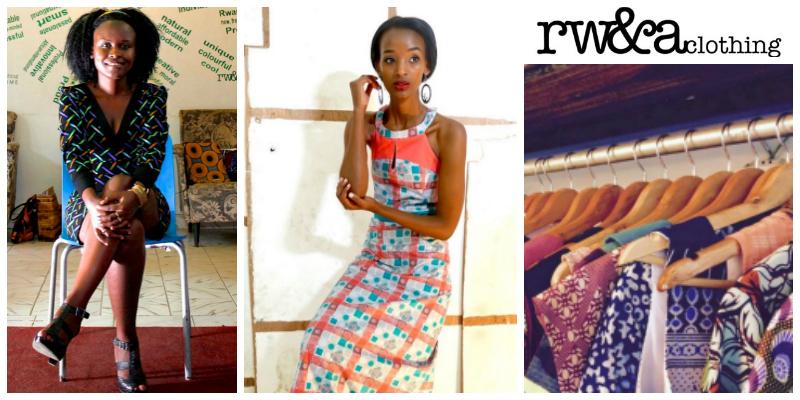 Joselyne Umutoniwase , founder of  Rwanda Clothing Home Ltd (Rwanda)
