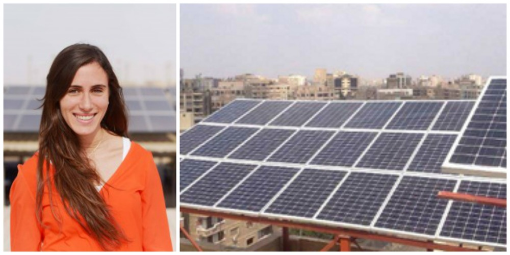Rana Alaa, co-founder and technical director of SolarizEgypt