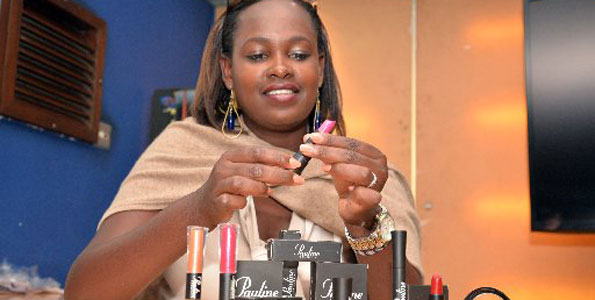 Nelly Tuikong, founder of Pauline Cosmetics (Kenya)