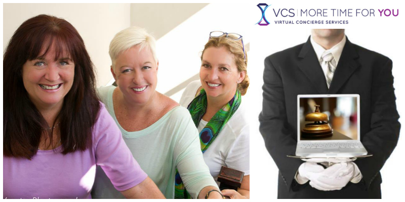 Dawn Beech, Rose Chaplin & Rachel Staddon, founders Virtual Concierge Services (South Africa)