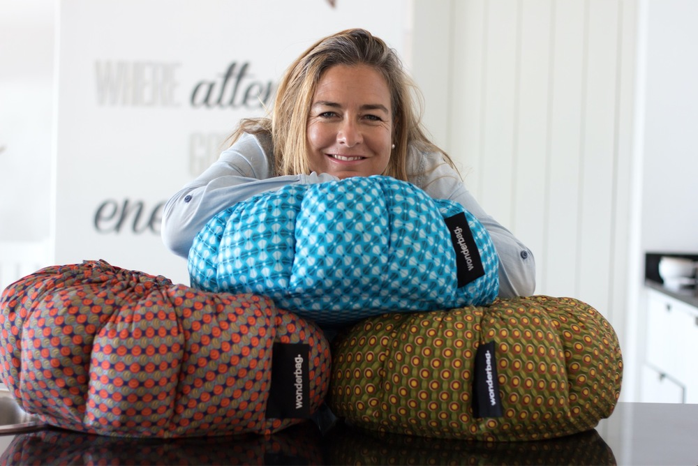 Sarah Collins , founder and CEO of  Wonderbag