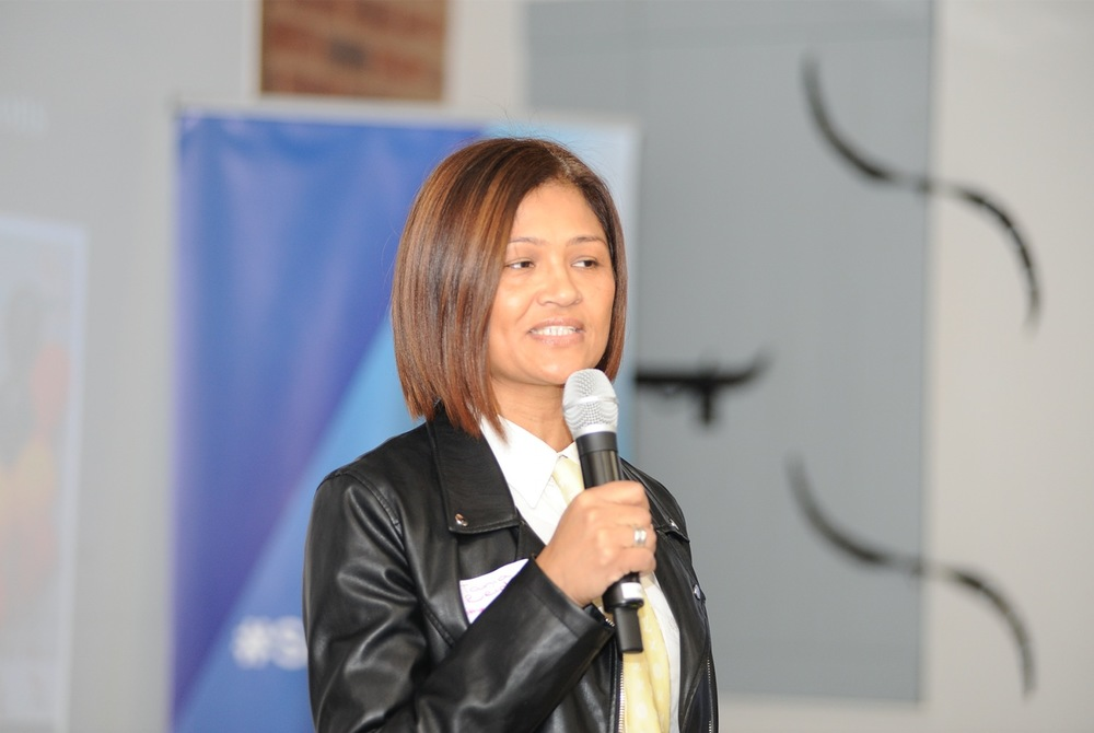 Tania Reid, founder of Ithemba Office Solutions