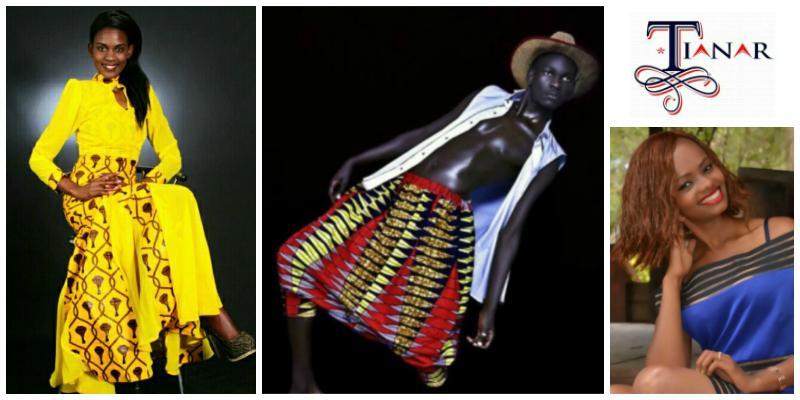 Robertinah Nzula, founder of The Tianar Models(Kenya)