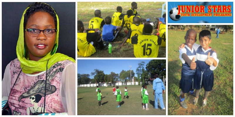 Mariam Mpaata, founder of Junior Stars Youth Development Programme (Kenya)