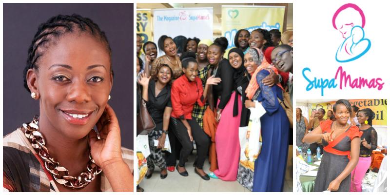 Christine Khasinah Odero , founder of  Supamamas  (Kenya)