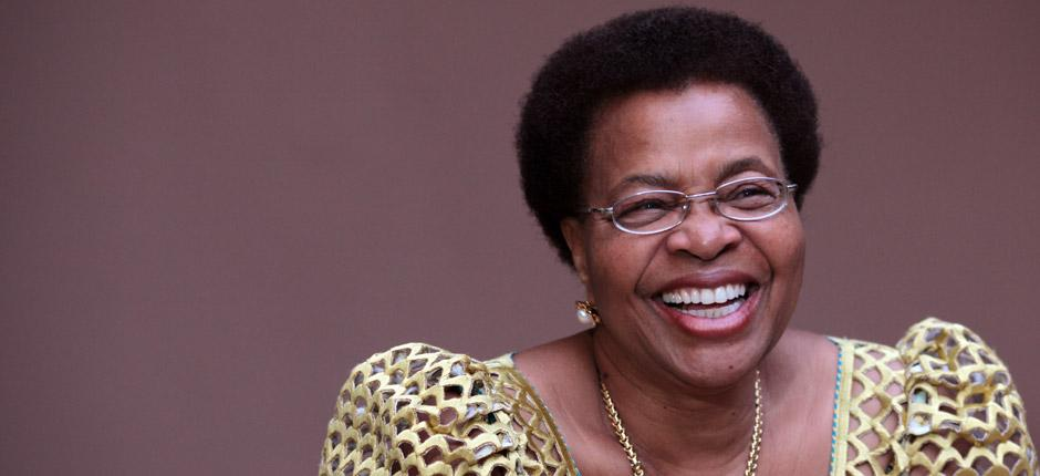 Graça Machel , founder of the  Graça Machel Trust