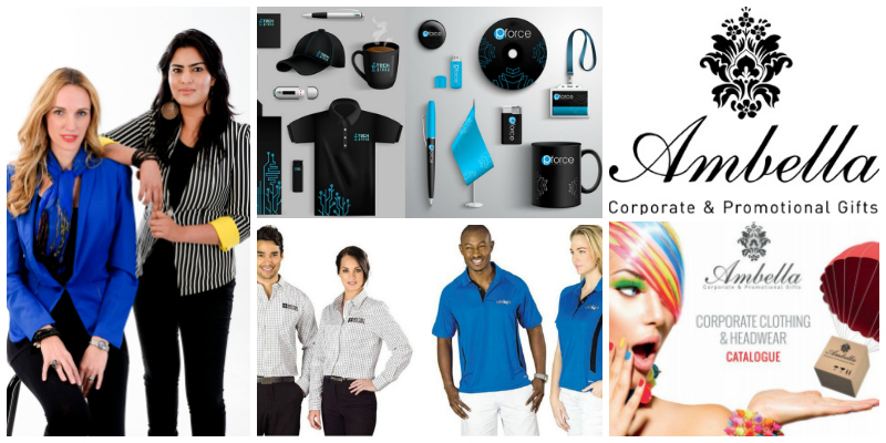 Amanda Ioannoy (founder) & Varisha Singh, the dynamic duo behind Ambella Corporate and Promotional Gifts (South Africa)