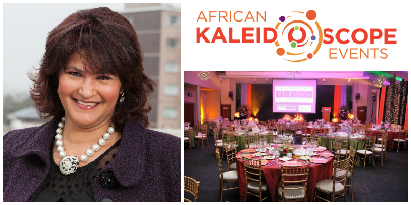 Alison Barnard, founder of African Kaleidoscope Events (South Africa)