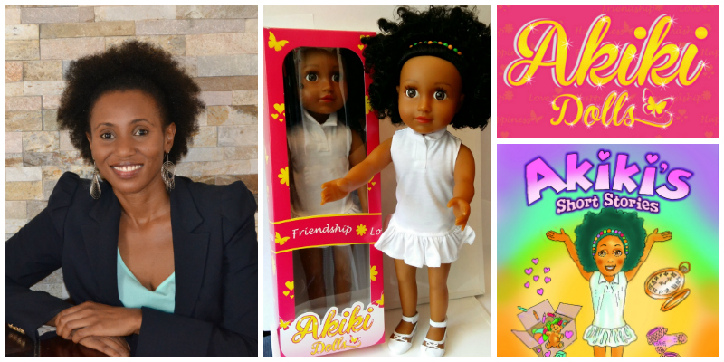 Fatuma Abdullah , founder of  Akiki Dolls  (South Africa)