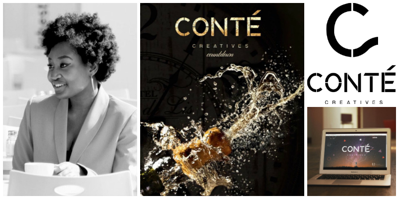 Charmaine Ngobeni, co-founder of Conté Creatives (South Africa)