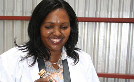 Tabitha Karanja, founder and CEO of Keroche Breweries, Kenya