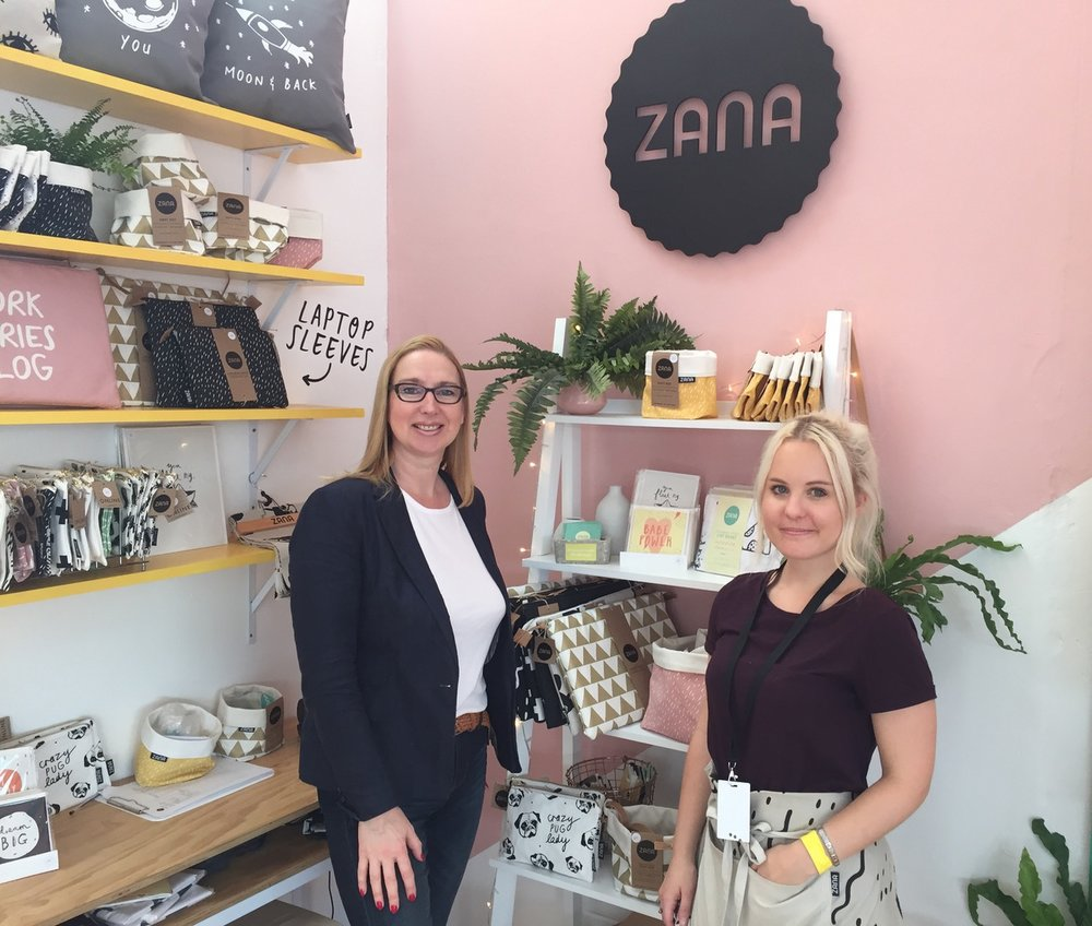 Homeware and lifestyle accessories brand, Zana, and its co-founder Robyn Britz, display some of the brand's quirky and loveable new products, many of which feature the company's mascot, Frenchie, a gorgeous french bulldog. More.