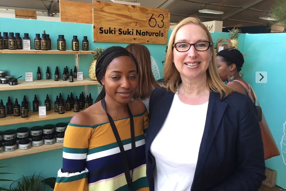 For those in search of natural haircare products,  Suki Suki Naturals  founder  Linda Gieskes , has the answer and her brand is certainly winning new fans every day. Her African natural hair care line is passionate about the healing and restorative powers of natural and essential oils.