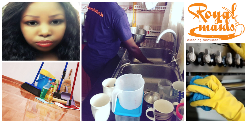 Sarah Munyiva , founder of Royal Maids Cleaning Services (Kenya)