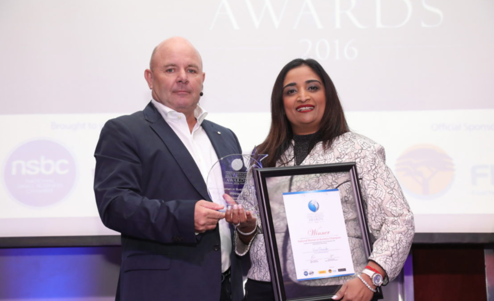 National Woman in Business Champion: Vino Govender, founder of LA Consulting Engineers